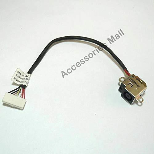 1-20 PCS Nuevo conector de alimentación de CC para computadora portátil con cable para HP DV6-6000 DV7-6000 Conector de CC Reemplazo de la toma de corriente para computadora portátil (Longitud del cab