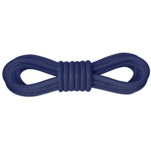 Kilter Runde Luxury-Schnürsenkel gewachst für Business-, Anzug- und Lederschuhe, ø 2.5 mm, Längen 60-150 cm - Königsblau - 75cm (2 Paar)