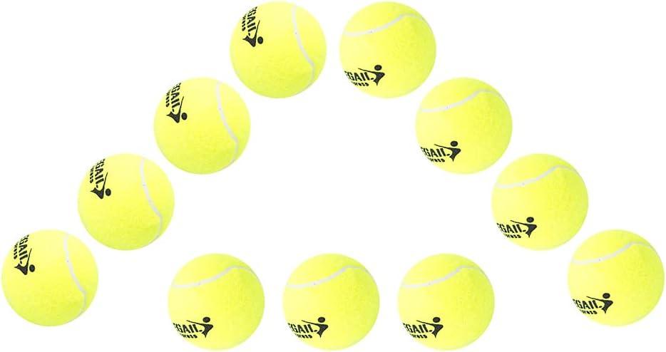 12PCS Tennis Balls High Elastic Sport Tennis Balls for - Practic
