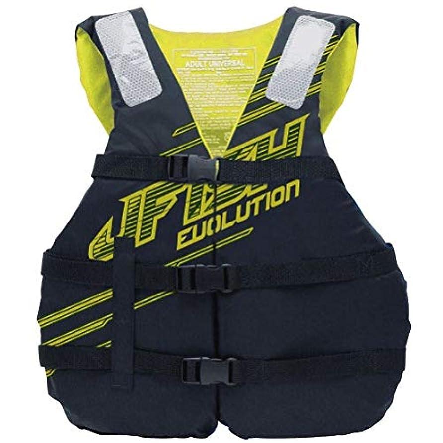 アーチ幸福統計的【2019 ジェイフィッシュ SHELL ライフジャケット 簡易 JCI予備検査承認 ライフジャケット ジェットスキー 水上バイク 救命胴衣 JLV395