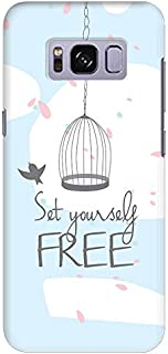 Stylizedd Samsung Galaxy S8 Plus Slim Snap Case Cover Matte Finish - Set Yourself Free