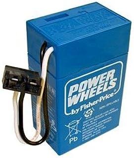 Juguete/Juego Fisher Price completa, 6V, 4Ah Power ruedas batería azul–Extend Your Batteries Vida.