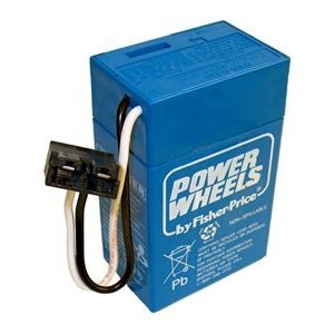 Toy / Game Fisher Price Complete 6 Volt, 4 Ah Blue Power...