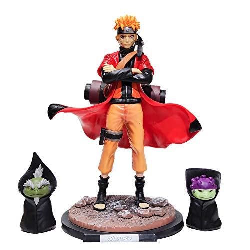 DZC Naruto Uzumaki Naruto Modo De Hadas Colección Juguete 29 Cm Muñono Movible Naruto Anime Fiesta Regalo Niño Adulto Cumpleaños Colección De Regalo Naruto