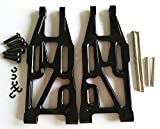 For 1/10 Bullet MT/ST 3.0 FLUX 101213 Upgrade Parts Aluminum Front Suspension Arm - 1PR SET Black -