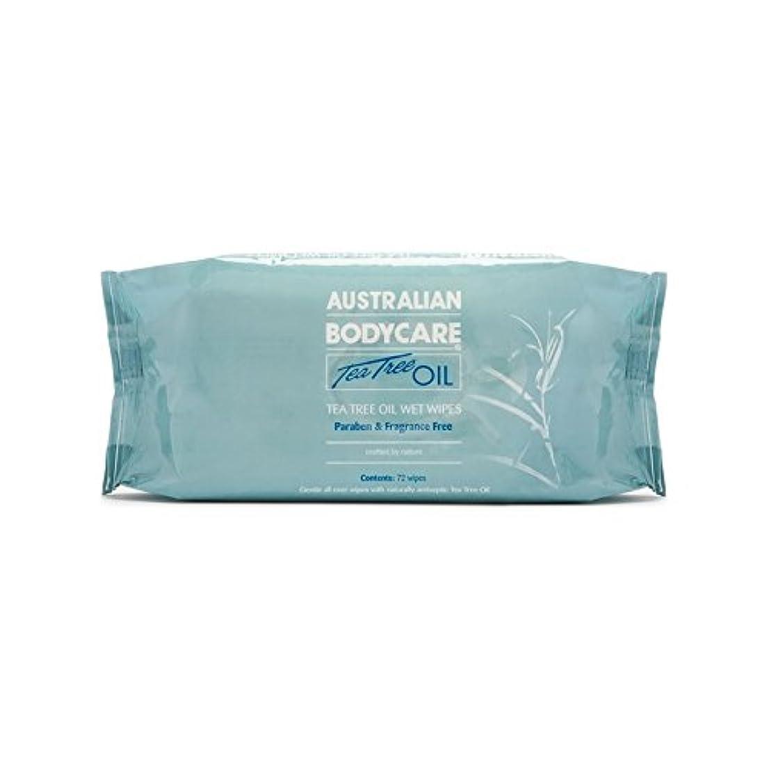 かろうじてマイクロフォン窓を洗うAustralian Bodycare Eco Wipes (72 Pack) (Pack of 6) - オーストラリアのボディケアエコワイプ(72パック) x6 [並行輸入品]