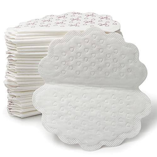 GingerUP Coussinet Anti Transpirant, 80 Pièces Patchs de Transpiration Lingette Jetables Protège Aisselles