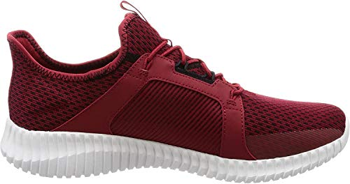 Skechers Elite Flex Sneakers in Übergrößen Rot 52640/RDBK große Herrenschuhe, Größe:48.5