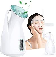 スチーマー 美顔器 フェイススチーマー 熱噴霧 乾燥対策 加湿 顔 ナノ超微粒化技術 毛穴 コンパクト 各種肌質対応 液晶画面表示 操作簡単