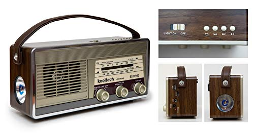 Kooltech 019519 Radio BT USB Vintage/Swing/30