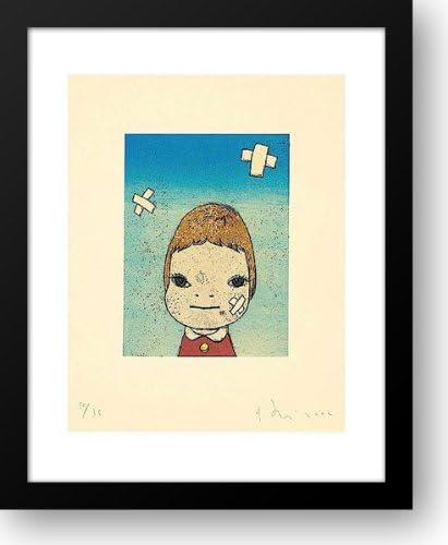 Green Eyes 2002 15x18 Framed by Indianapolis Mall Print Nara Art Max 57% OFF Yoshitomo