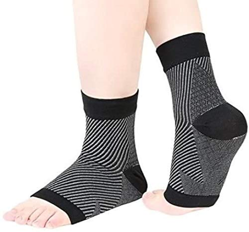 PEDIMEND Plantar Fasciitis Socks with Arch Support 4PAIR 8PCS Great for Aching Feet Heel Pain Relief Provide Relieve from Achilles Tendonitis Unisex Foot Care Large UK 85 135