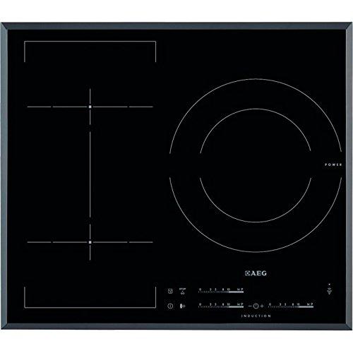 AEG HKL65310FB hobs - Placa (Integrado, Inducción, Vidrio y cerámica, Sensor, Parte...