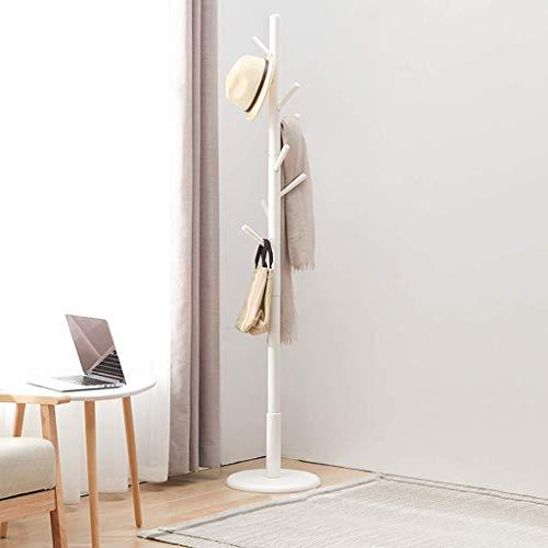 LIPENLI Simples de la casa Percha piso dormitorio de madera sólida blanca Percha Percha 180x36cm Monte estante de la pared