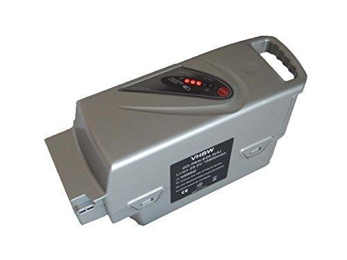 vhbw Batteria Compatibile con Helkama E2800, E2800A, Jopo Electro, TE2800, TE2800 Comfort E-Bike Bici elettrica (15,6Ah, 25,2V, Li-Ion)