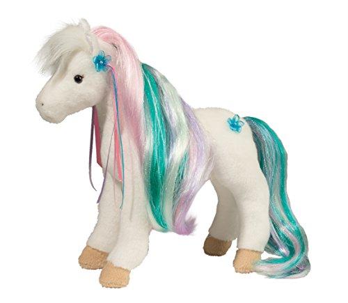 Douglas Rainbow Princess Horse Plush Stuffed Animal