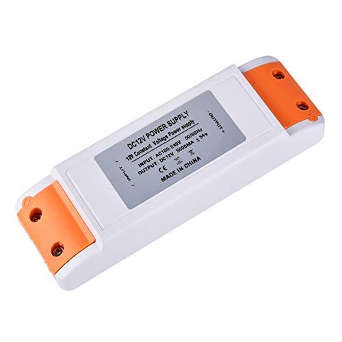 LED trafo 12V LED Transformator 0-60W LED Treibe Driver Netzteil Stabilisierte Spannungsquelle für LED Lichtstreifen, Schrank Licht, LED-Anzeige, Deck Licht, LED Display, MR16, G4, MR11