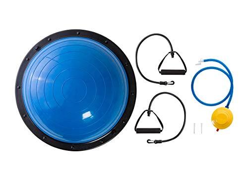Monoprice GetFit Fitness Balance Trainer Ball mit rutschsicheren Boden, Luftpumpe, und dreistufig Widerstand Bands für Workout, Training, Cardio, Krafttraining, Balance Training