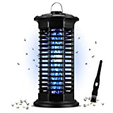 Oriflame Bug Zapper,Electric Mosquito Zappers/Killers,Mosquito Lamp,Insect Fly Trap Hangable for Indoor Plug in,Safe for Pets and Children
