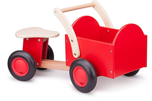 New Classic Toys - 11400 - Vélo et Véhicule pour Enfant - Triporteur - Monté - Rouge