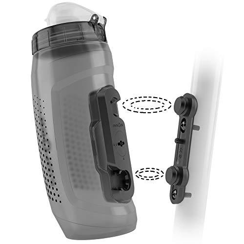 Fidlock Bottle 590 Bike Base Magnetischer Fahrrad Flaschenhalter Fahrrad Trinkflasche Fahrrad mit Halterung Getränkehalter Fahrrad Getränkehalter Trinkflaschenhalter Fahrrad Trinkflaschenhalterung