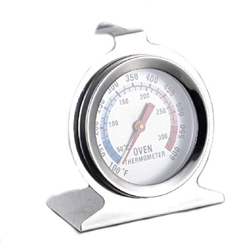 RVS Oven Thermometer Temperatuur Gauge voor Pizza AGA Cooker