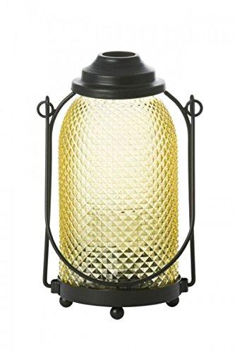 YANKEE CANDLE Glas Laterne Lanterna, Gelb, 10 X 14 X 22 Cm