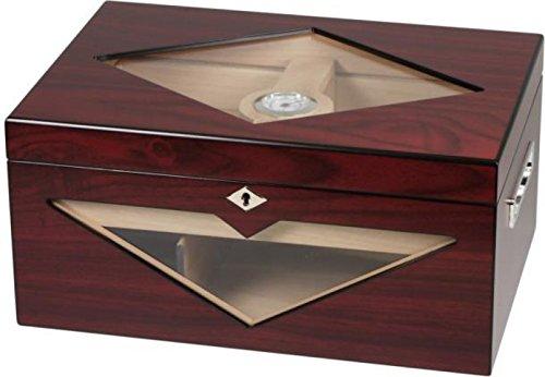 Design-Humidor Kirschbaumfinish 100 Zigarren V-1320 inkl. Lifestyle-Ambiente Tastingbogen