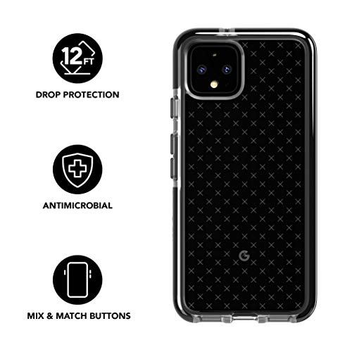 tech21-evo-check-phone-case-for-google-pixel-4-xl-smokey-black-antimicrobial-bioshield-with-12ft-drop-protection-modelt21-7393