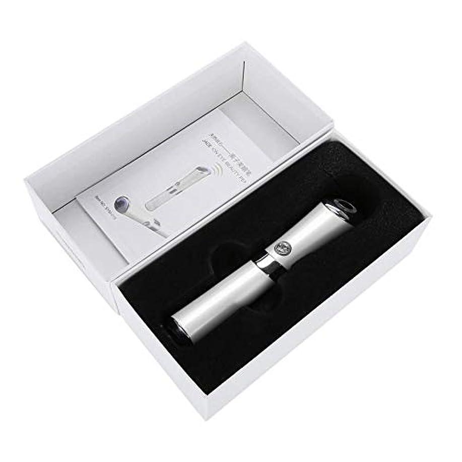忌み嫌うパトロン商人Ostulla 高品質のハンドヘルド電磁石アイマッサージャー、絶妙なアイケア機器 気配りの行き届いたサービス (Color : White)