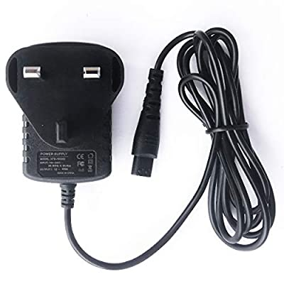 12V Power Supply Charging Cord Replacement Electric Shaver Razor Charger for Remington F4790 F-4790 F555 F-555 F5-5800 F5790 PR1235 F4900 Beard Trimmer Razor Charger