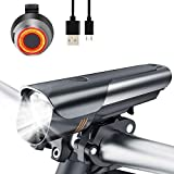 VISLAN LED Bike Lights, New Generation Anti-glare 600 Lumen Bicycle Light with 4 Lighting Modes, USB...