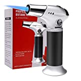 AMRIU Blow Torch, Professional Kitchen Cooking Torch with Safety Lock Adjustable Flame Refillable