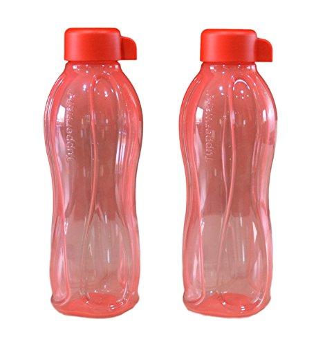 Tupperware Aquasafe - Bottiglia da 500 ml, colore: Rosso