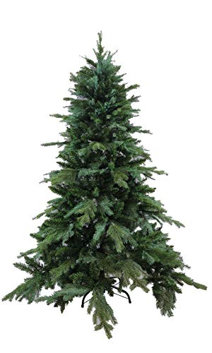 PREQU' Albero di Natale Acadia Realistico Rami Ombrello PVC + PE (210 cm)