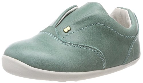 Bobux Unisex-Kinder SU Duke Trainer Sneaker, Grün (Teal), 19 EU