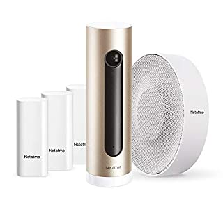 Netatmo Smart Alarm System with Smart Indoor Security Camera + Smart Indoor Siren + Smart Door and Window Sensors (B085FKLFRX) | Amazon price tracker / tracking, Amazon price history charts, Amazon price watches, Amazon price drop alerts