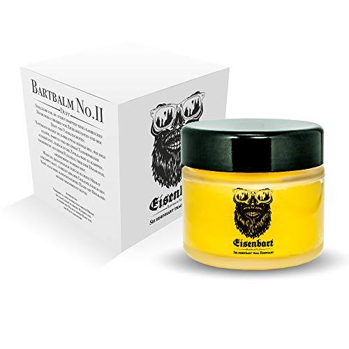 Eisenbart Bálsamo para barba No.II 60 ml Premium para el cuidado de la barba Citrus + Vainilla