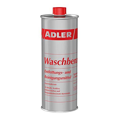 ADLER Waschbenzin - 500 ml - Reinigungsbenzin, Reinigungsmittel und Fleckenentferner, zur gezielten Reinigung von fettigen und öligen Verschmutzungen