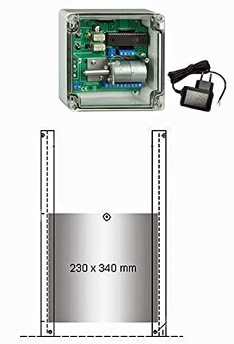 Automat. Klappensteller+Außenlichtsensor+Hühnerklappe – Direkt vom Hersteller! - 2