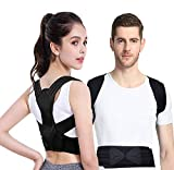 Viixm Posture Corrector for for Women and Kids, Back Brace Adjustable Spinal Support