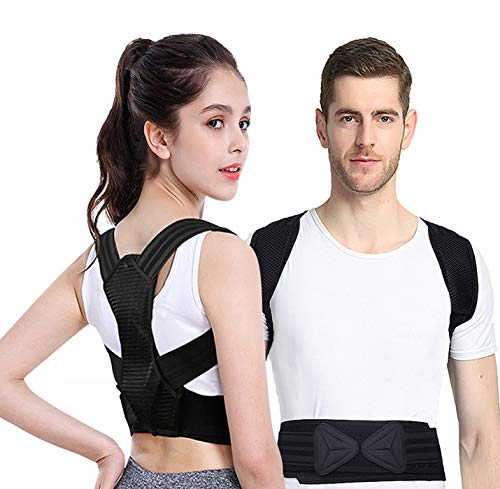 Viixm Posture Corrector for for Women and Kids, Back Brace...