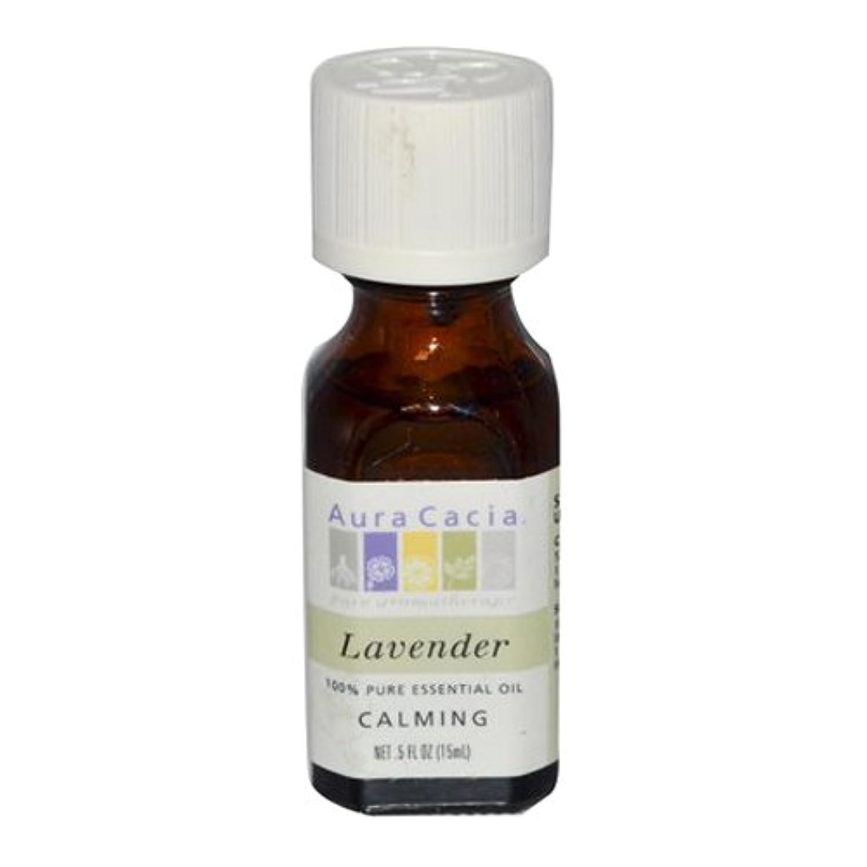 分数シュリンクでるAura Cacia Lavender Calming Pure Essential Oil 15 ml (並行輸入品)