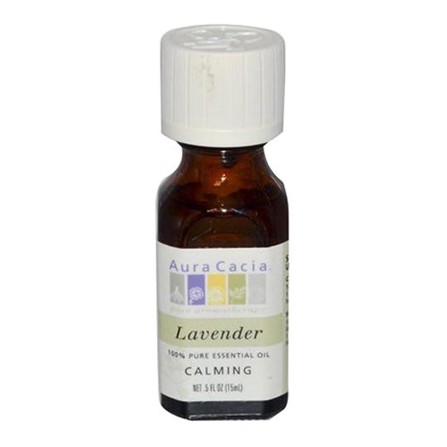 後者慎重行進Aura Cacia Lavender Calming Pure Essential Oil 15 ml (並行輸入品)