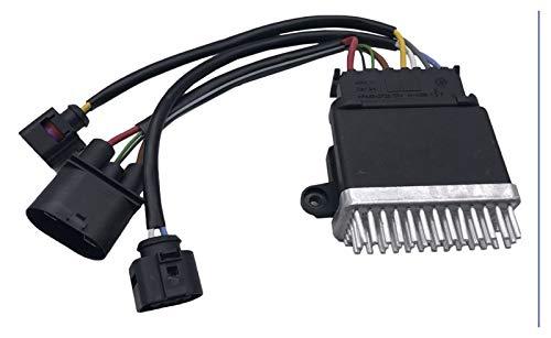 JIEYANG YouCg Módulo de Control de Ventilador de refrigeración del radiador Fit para Audi A4L Q5 A6L C7 Pieza No.8k0 959 501 g 8k0959501g