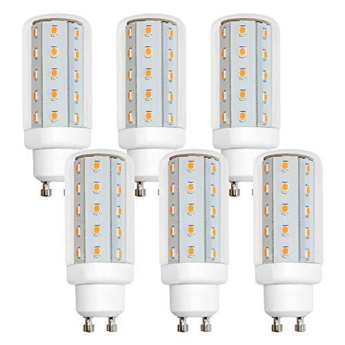 6 x LED Leuchtmittel T30 Röhre 4W Corn kaltweiß 6500K Tageslicht 360° (GU10, 6 Stück)