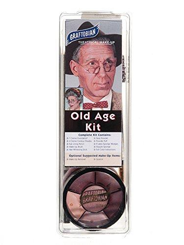 Graftobian 181574 Old trousse de maquillage d'-ge