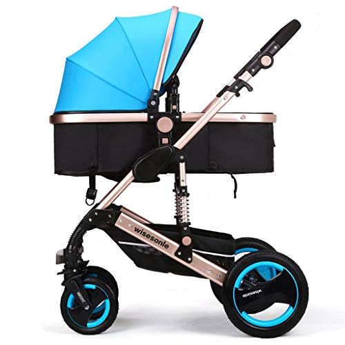 Find Discount XYSQ Stroller Carriage-Convertible Trolley Compact Single Stroller, Toddler Seat Troll...