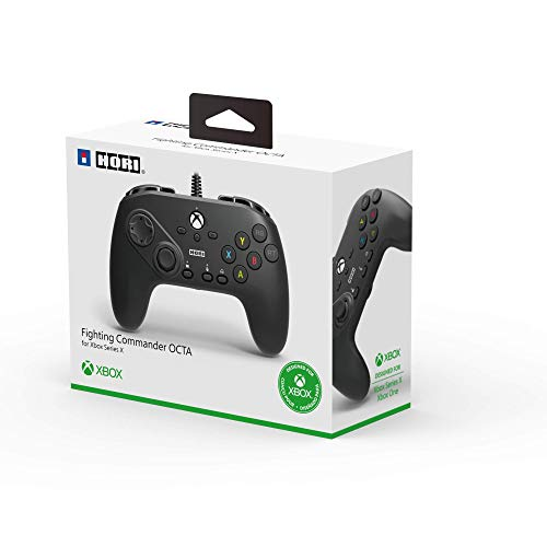 Hori Fighting Commander Octa Designed for Xbox Series X S By - Officially Licensed by Microsoft - Xbox Series X