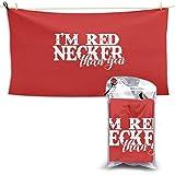 I'M Red Necker Than You Than超吸収性バスタオル